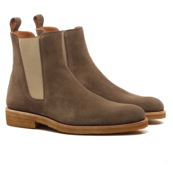 ORO Shoes   Mens Chelsea Boots Size 3